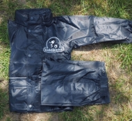 Smart, waterproof football  jacket and trouser set for outdoor footie play